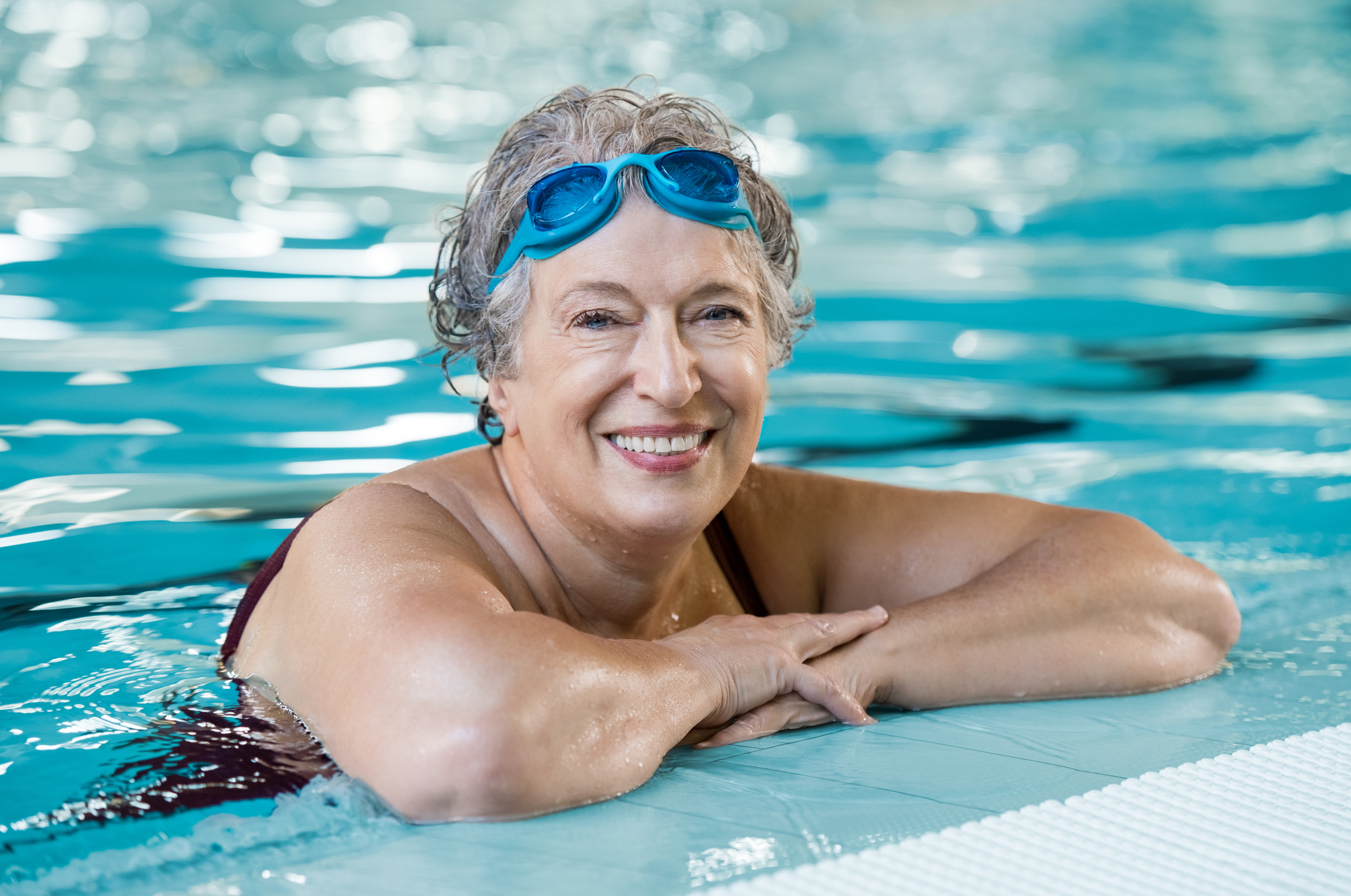 older adult activities, senior swimming, senior actiivities